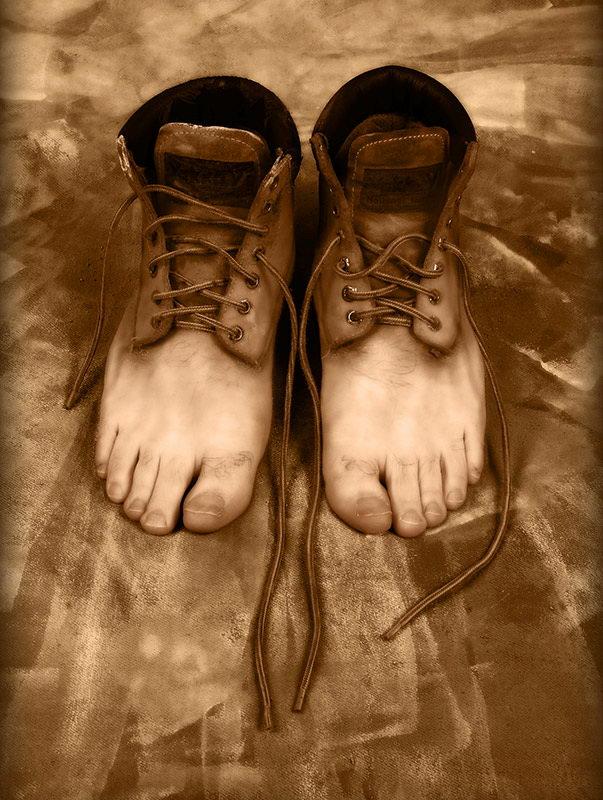 Os pés dos homens são mais feios do que os das mulheres?